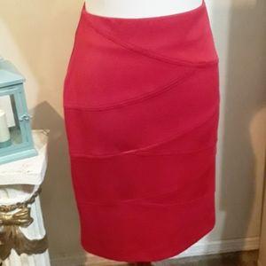 NWT Alfani Red Skirt